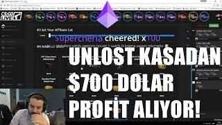 UNLOST KASADAN $700 DOLAR PROFİT ALIYOR!