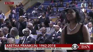 Stevie Wonder - As (Live) Aretha Franklin's Funeral