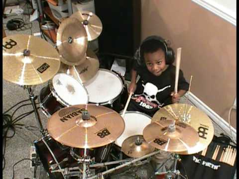 Zz top la grange drum cover 4 year old drummer youtube - Zz top la grange drum cover ...