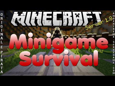 Divulgação de Server 1.8 Minigame e Survival Original e Pirata #248