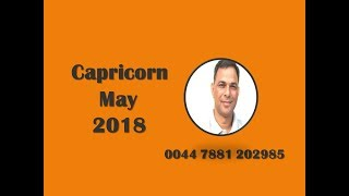Monthly Forecast,Capricorn May 2018 Astrology Horoscope Love Job Money Family Travel Property