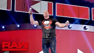 """Stone Cold"" keeps the party going after Raw Reunion: Raw Exclusive, July 22, 2019"