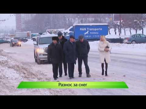 Рейд ВРИО по заснеженному Кирову. 28.12.2016. ИК Город