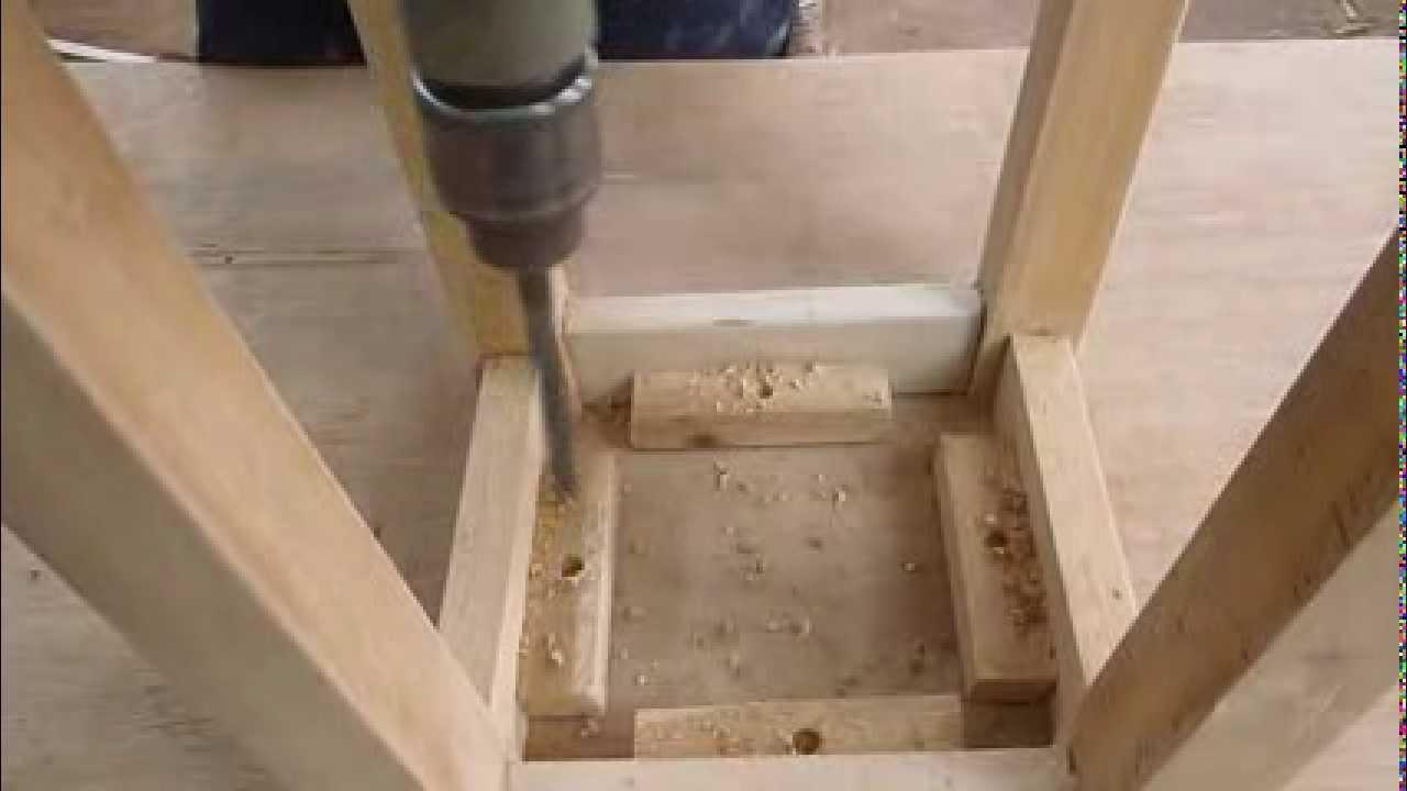 Como hacer una banca de madera facil youtube - Tapizado de sillas paso a paso ...