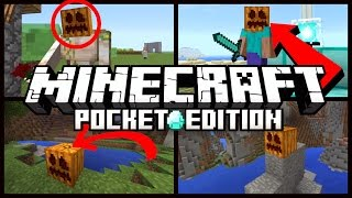 Minecraft Pocket Edition - THINGS YOU DIDN