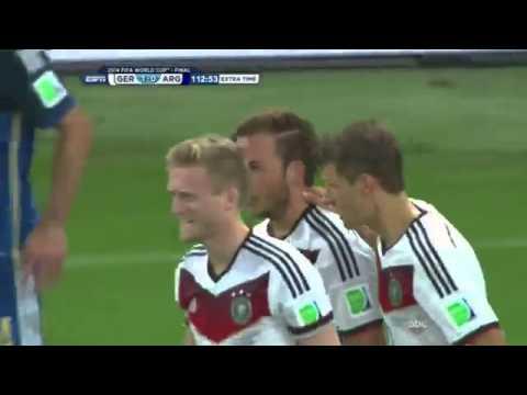 Mario Götze Goal vs Argentina WC Final 2014