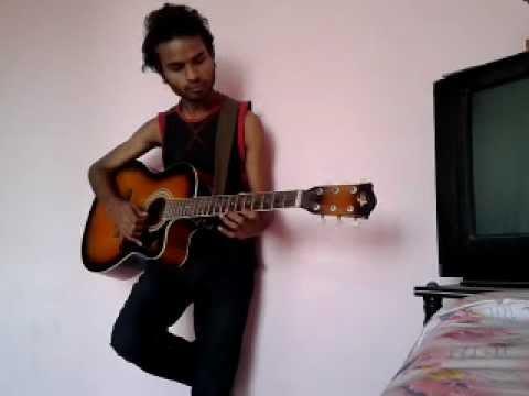 arya 2 uppenantha e premaki song on guitar