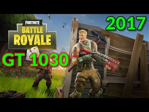 Fortnite Battle Royale Gaming GT 1030