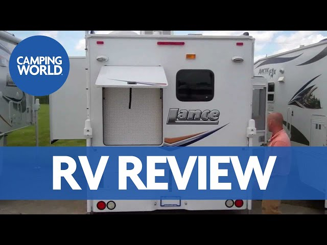 Lance 1191 Long Box Truck Camper American RV Grand Rapids, MI 1-877-863-9527