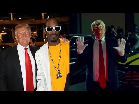 Hollywood Rapper Snoop Dogg Stages Fake Assassination of Donald Trump In Rap Video (REACTION)