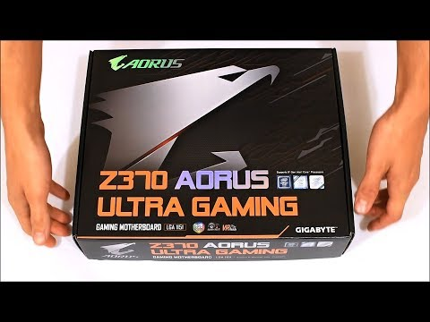 GIGABYTE Z370 AORUS Ultra Gaming (unboxing)