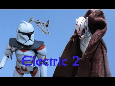 Electric 2 Return of Electron (Star Wars Stop Motion)