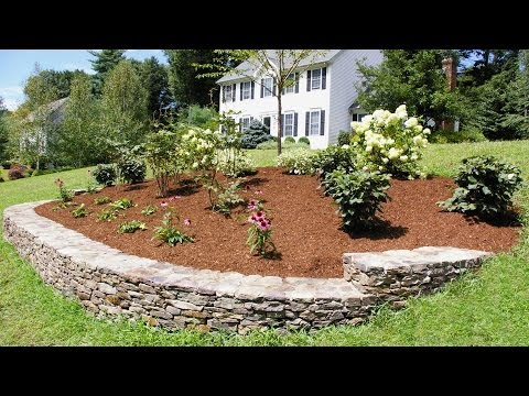 Landscaping Ideas for a Front Yard: A Berm for Curb Appeal