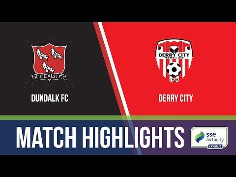 HiGHLIGHTS: Dundalk FC 2-2 Derry City