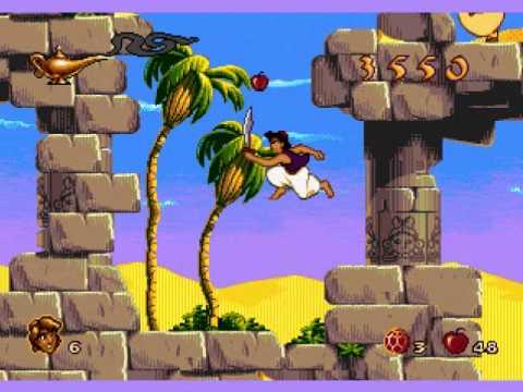 Aladdin MEGADRIVE, la vidéo de Docteur Jones86
