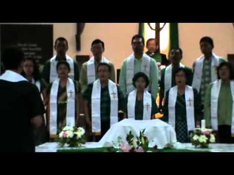 PSPP-GKJ Demakijo Nyanyi dan Bersoraklah Bagi Dia, Perjamuan Kudus 02-02-2014