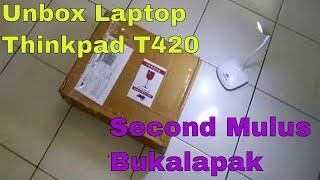 Beli laptop second mulus #Thinkpad T420 dari Bukalapak
