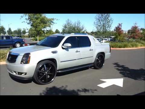 Rims Truck on Cadillac Escalade Ext On 28 S