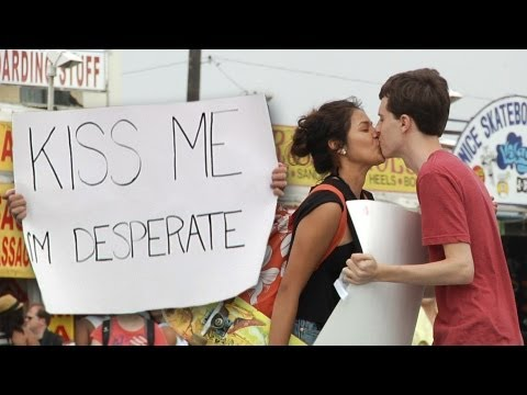 Kiss Me I'm Desperate video