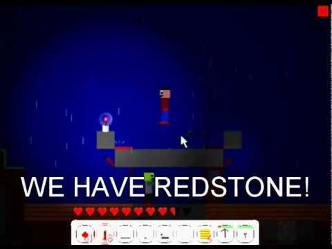 2D Minecraft - Mine Blocks 1.8 - Redstone