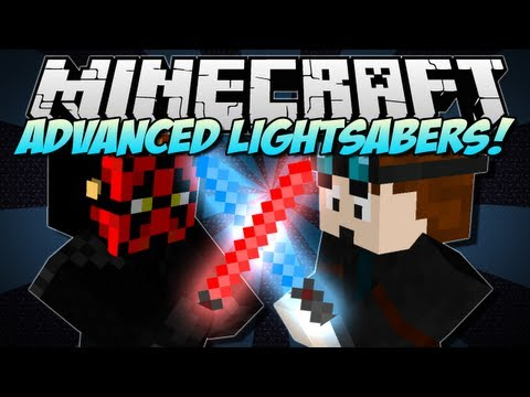 Minecraft   ADVANCED LIGHTSABERS! (Jedis & The Force!)   Mod Showcase [1.5.2]