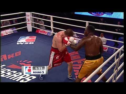 Rafako Hussars Poland v Puerto Rico Hurricanes - World Series of Boxing Season V Highlights