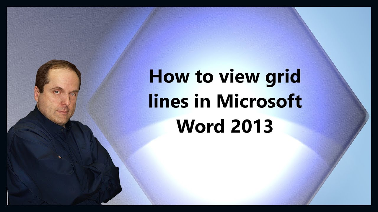 microsoft word how to make a grid