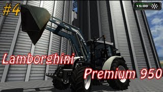 Lamborghini (Organization), Trecker, Modhoster, GIANTS, Software, Astragon, Fendt, John-Deere, Claas, Massey-Ferguson, Case, IHC, International, Landwirtschafts-Simulator, 2011, Screen, Screenshot, Fraps, Video, Frontlader, Ladewagen, Fluss, neue, Texture