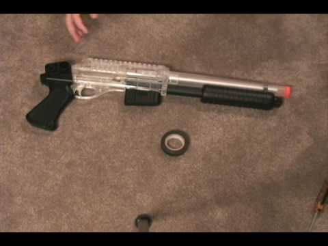 How to Paint and Airsoft Gun Part 1 - Preparing the Gun