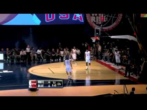Team USA: Derrick Rose Soars for the Dunk