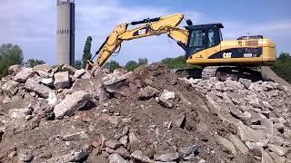 Cat 325D #Excavator Liebherr 544 #wheel loader