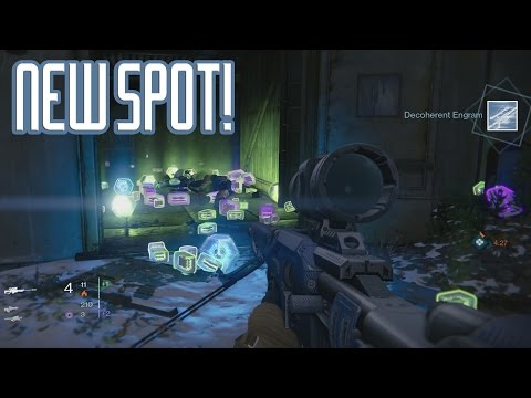 Best Destiny Loot Cave Spot AFTER PATCH - Destiny Legendary Engram Farming (Destiny Loot Cave)