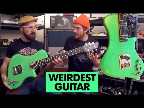 Pedals and Effects: The World's Strangest Weirdest Guitar with Spencer Seim