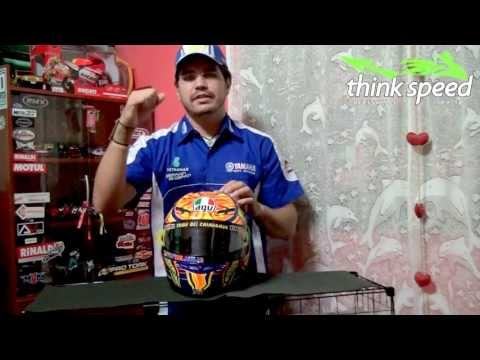 Anlise (review) AGV GP-Tech - Think Speed Acessrios