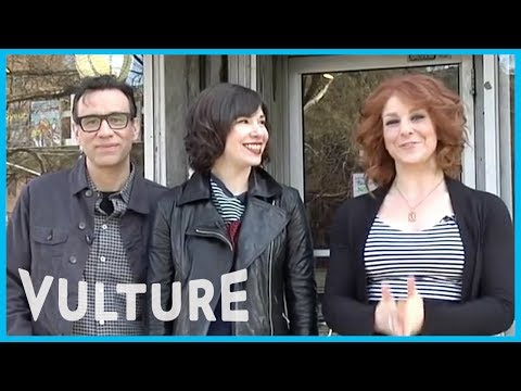 Portlandia's Fred Armisen and Carrie Brownstein Go Shopping at a Real Feminist Bookstore
