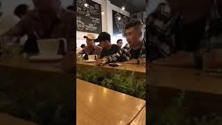 B Ray - Richchoi - cuộc gặp gỡ giảng hòa giữa 2 rapper! - Rap Việt 2018