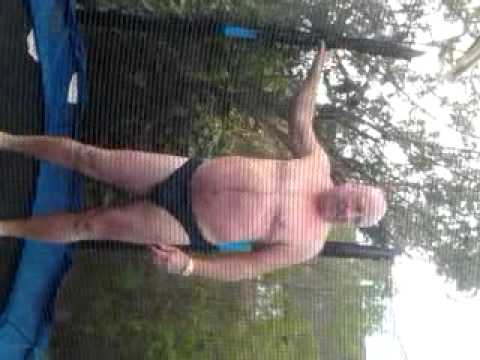 Ha Naked Old Man Being Shot With A Airsoft Gun video