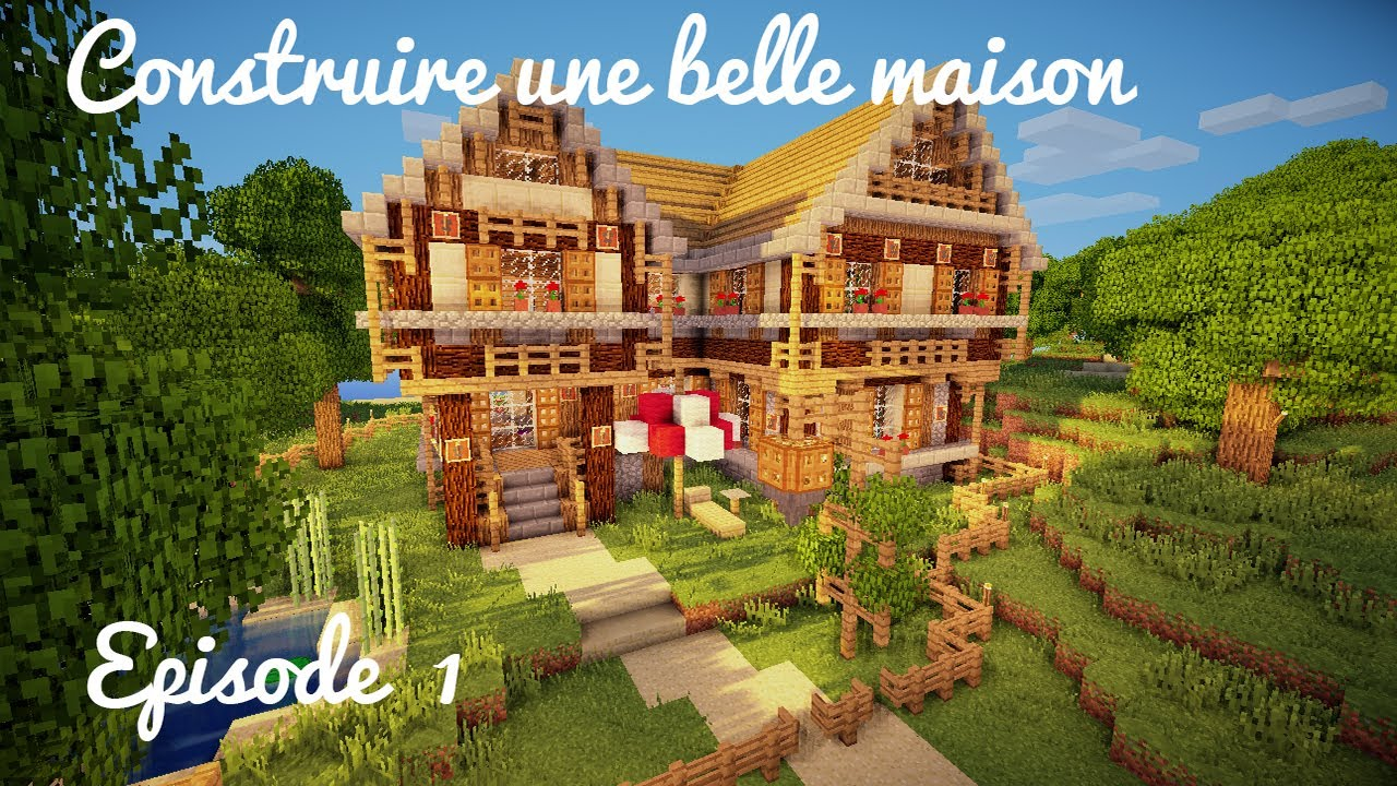 Comment construire belle maison minecraft la r ponse est for Belle maison minecraft