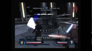Star Wars: Revenge of the Sith PS2 Walkthrough, Settling the Score - Count Dooku Boss Fight