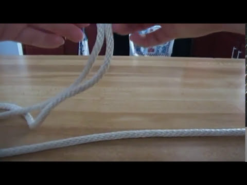 Tying the Fiador Knot for a bosal hackamore