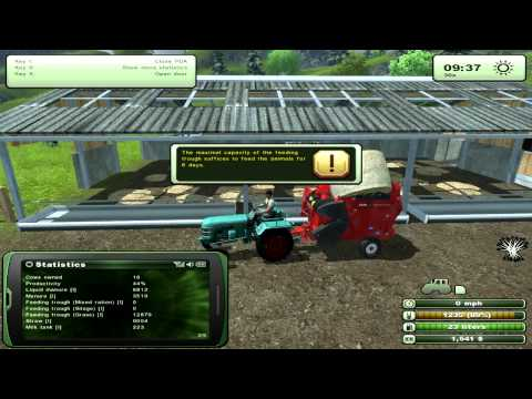 Farming Simulator 2013 - Cows: Feed & Manure