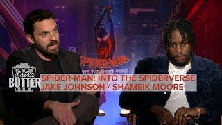 A Spider-Man for everyone: Shameik Moore & Jake Johnson interview | Extra Butter