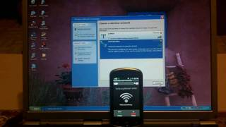 Android 2.1 on Samsung Moment With Live Wallpaper plus Tethering