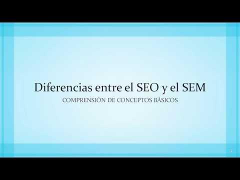 Diferencias entre el SEO y el SEM - Curso de SEO