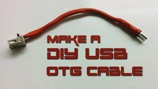 How to make USB OTG