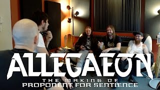 ALLEGAEON - Proponent for Sentience (studio documentary)