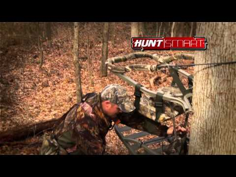 Using the Summit Viper climbing treestand