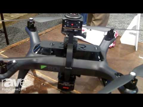 InfoComm 2016: 3D Robotics (3dr) Shows the Solo Drone at the Stampede Booth