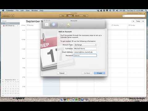 How To Sync An Exchange Calendar Using iCal