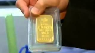 FAKE GOLD WARNING   Pamp Suisse GOLD Bars with TUNGSTEN found in NYC